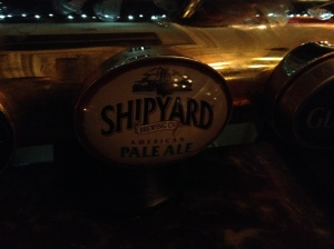 The tap says Shipyard