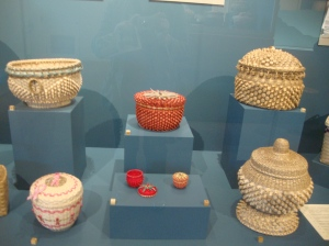 Mohawk basketry exhibit