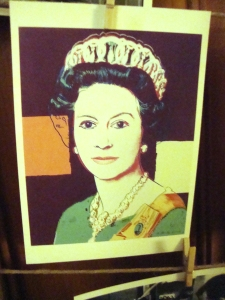 Andy Warhol's take on the Queen